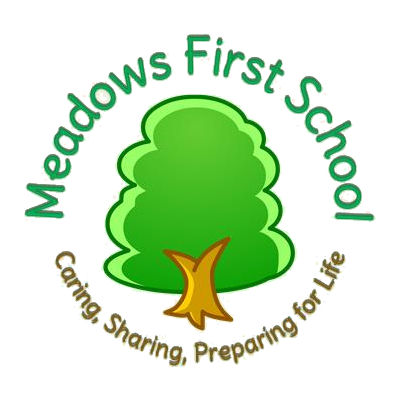 meadows first school site circular logo