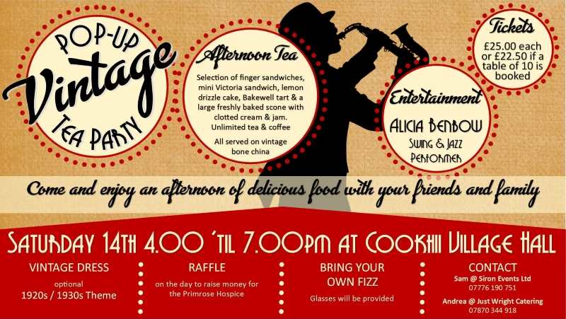 vintage tea party sax man oct 2017